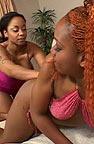 Black lesbians have threesome